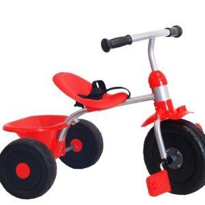 Kolmipyörä Punainen/musta