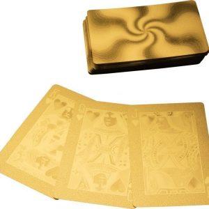 Kultaiset pelikortit