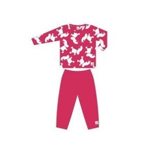 Kunnas Hakkarainen-pyjama pinkki 122 cm