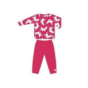 Kunnas Hakkarainen-pyjama pinkki 128 cm