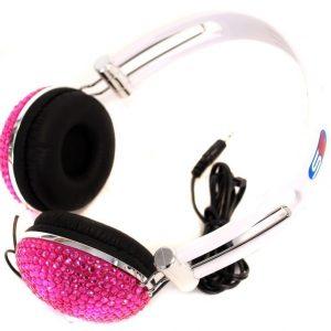 Kuulokkeet 120 cm Pinkki/kimalle