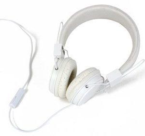 Kuulokkeet valkoiset