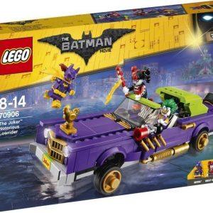 LEGO Batman Movie Jokerin lowrider-auto