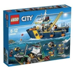 LEGO CITY Syvänmeren tutkimusalus