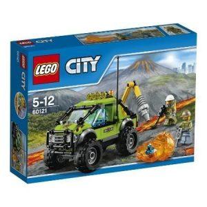 LEGO CITY Tulivuoren tutkimusauto