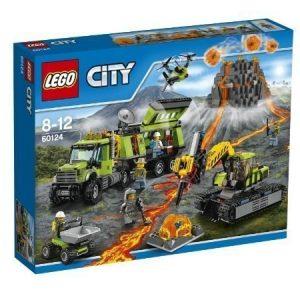LEGO CITY Tulivuoren tutkimustukikohta