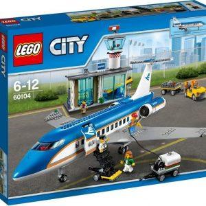 LEGO City 60104 Lentokentän matkustajaterminaali