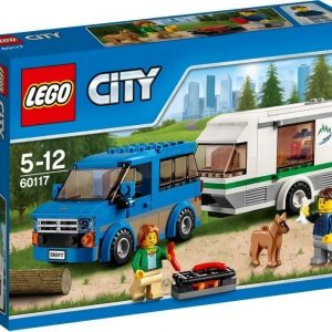 LEGO City 60117 Pakettiauto ja asuntovaunu