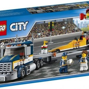 LEGO City 60151 Dragsterin kuljetusauto