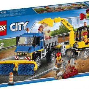 LEGO City 60152 Kadunlakaisukone ja kaivinkone