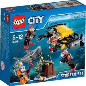 LEGO City Deep Sea Explorers Syvänmeren aloitussarja