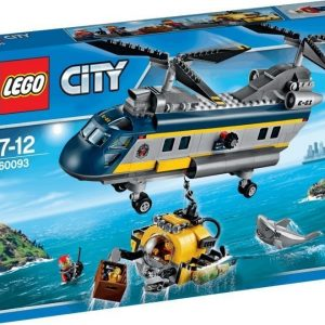 LEGO City Deep Sea Explorers Syvänmeren helikopteri