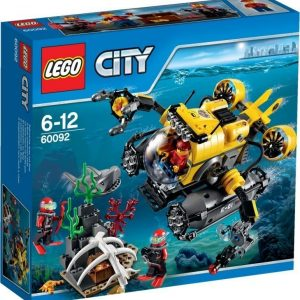LEGO City Deep Sea Explorers Syvänmeren sukellusvene