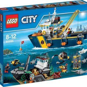 LEGO City Deep Sea Explorers Syvänmeren tutkimusalus