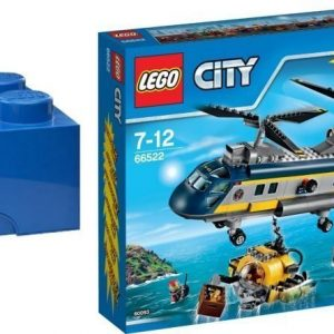 LEGO City Deep Sea Explorers Value Pack + Säilytyslaatikko Paketti