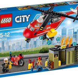 LEGO City Fire Palokunnan ensivasteyksikkö