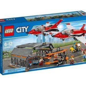 LEGO City Lentokentän lentonäytös 60103