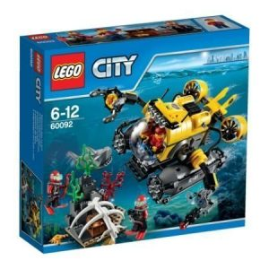 LEGO City Syvänmeren sukellusvene