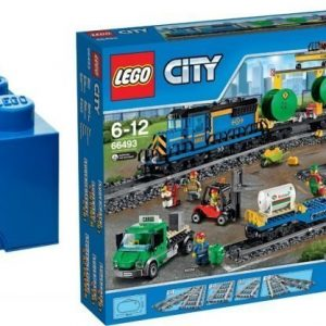 LEGO City Trains Value Pack + Säilytyslaatikko + Paketti