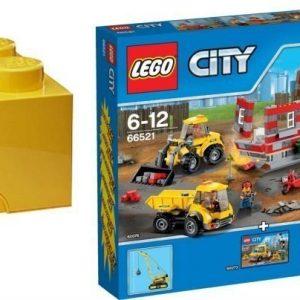 LEGO City Value Pack + Säilytyslaatikko Paketti