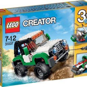 LEGO Creator Seikkailuajoneuvot