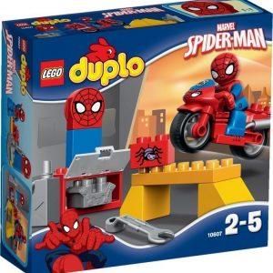 LEGO DUPLO 10607 Spider-Manin Seittimoottoripyörän paja
