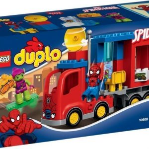 LEGO DUPLO 10608 Spider-Man ja seikkailu Hämähäkkikuorma-autolla