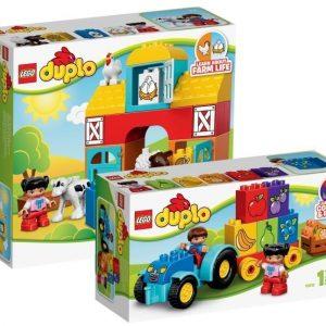 LEGO DUPLO Ensimmäinen maatilani + Ensimmäinen traktorini Paketti