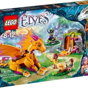 LEGO Elves 41175 Tulilohikäärmeen laavaluola