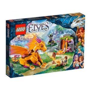 LEGO Elves Tulilohikäärmeen laavaluola