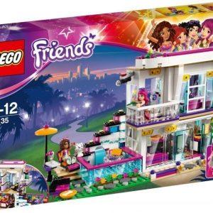 LEGO Friends 41135 Poptähti Livin talo