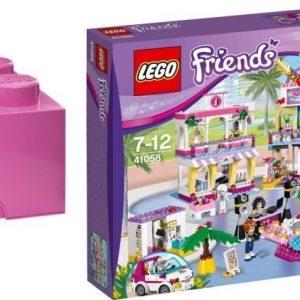 LEGO Friends Heartlaken ostoskeskus + Säiltyslaatikko Paketti