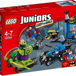 LEGO Juniors 10724 Batman ja Superman vastaan Lex Luthor
