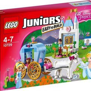 LEGO Juniors 10729 Tuhkimon vaunut