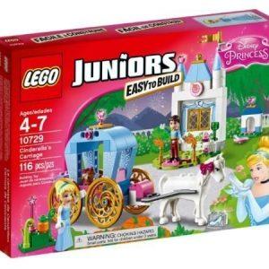 LEGO Juniors Disney Prinsessa tuhkimon vaunut