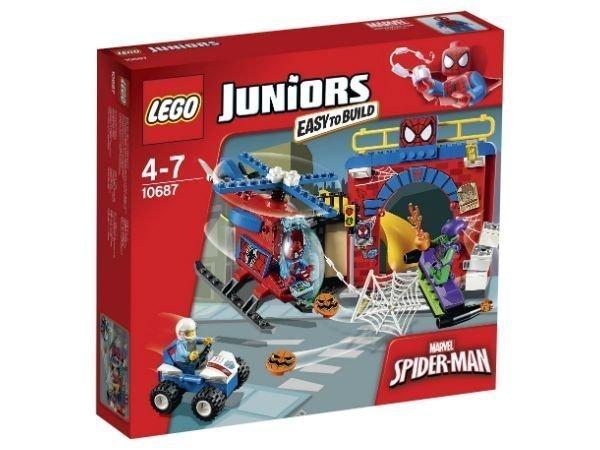 LEGO Juniors Spider-Manin piilopaikka