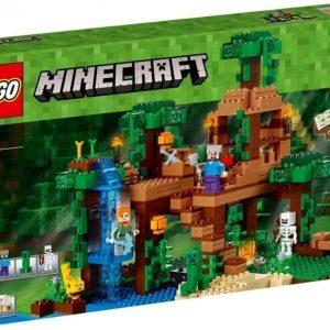 LEGO Minecraft 21125 Viidakkopuumaja