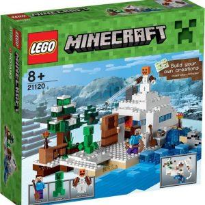LEGO Minecraft Skjulested i snøen