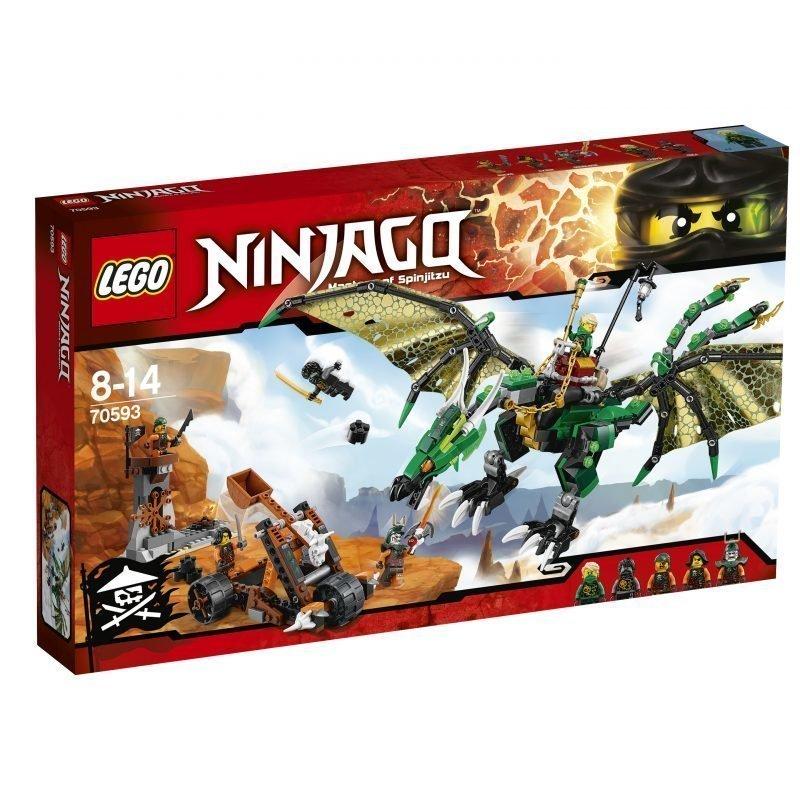 LEGO NINJAGO 70593 Vihreä NRG-lohikäärme