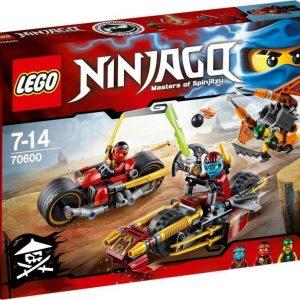LEGO NINJAGO 70600 Ninjapyörätakaa-ajo