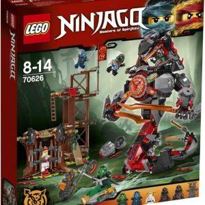 LEGO NINJAGO 70626 Rautatuhon koitto