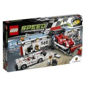 LEGO Speed Champions Porsche 919 Hybrid ja 917K-varikkokaista