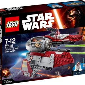 LEGO Star Wars 75135 Obi-Wan vs Jedi Interceptor