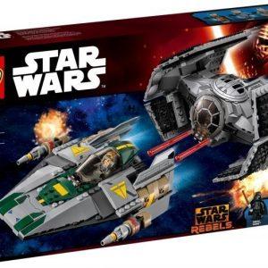 LEGO Star Wars 75150 Vader's TIE Advanced vs A-Wing Starfighter