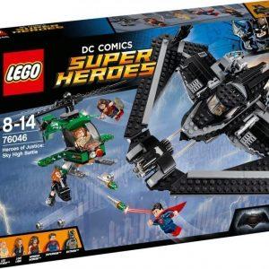 LEGO Super Heroes 76046 Oikeuden sankarit: Taistelu taivaalla