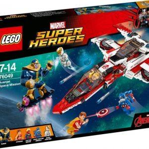 LEGO Super Heroes 76049 Avenjet-avaruustehtävä