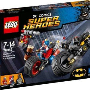 LEGO Super Heroes 76053 Batman: Gotham Cityn pyöräjahti