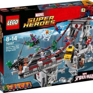 LEGO Super Heroes 76057 Spider-Man: Seittisoturien hurja siltataistelu