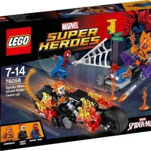 LEGO Super Heroes 76058 Spider-Man: Aaveajajan tiimityö
