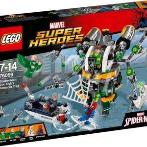 LEGO Super Heroes 76059 Spider-Man: Tohtori Mustekalan lonkeroansa